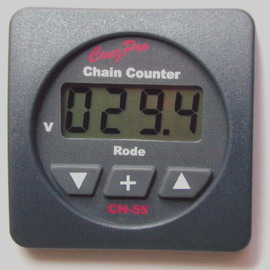 CH55S square bezel low cost Chain Counter