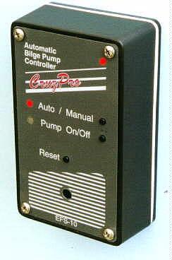 cruzpro efs20 marine dual bilge pump controller electronic float efs10 bilge pump controller electronic float switch
