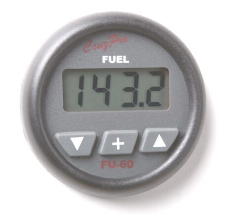 FU60 Digital Fuel Gauge - Consumption Calculator & Alarm