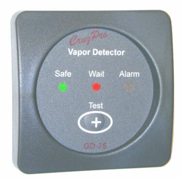 GD25 gas detector for LPG, petrol / gasoline, monitor and alarm